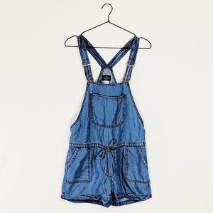 NWT American Eagle Drawstring Overall Shorts
